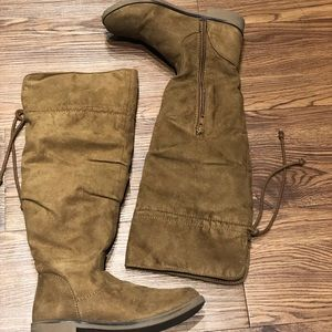 Children's place over the knee brown boot
